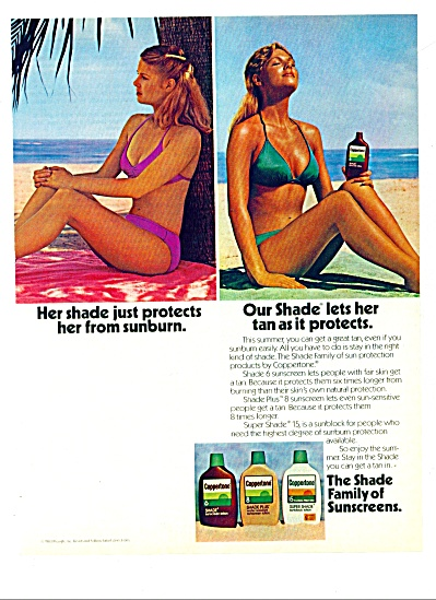 1983 - Coppertone sunscreen ad (Image1)