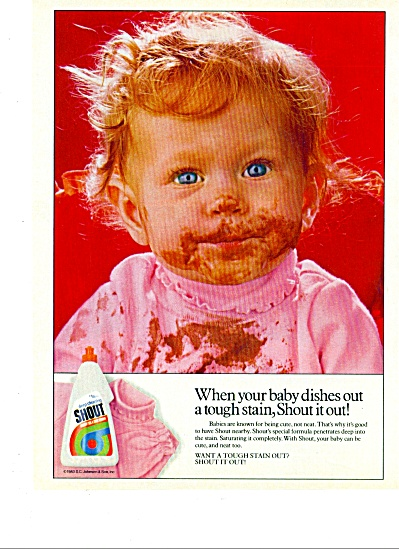 1983 -  Shout deep cleaning soap ad (Image1)