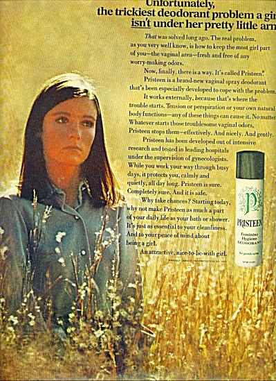 1969 -  Pristeen deodorant ad (Image1)