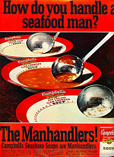 1969 -  The Manhandlers -Campbells soup ad (Image1)