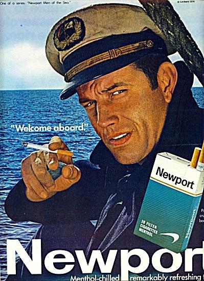 1969 -  Newport cigarettes ad (Image1)