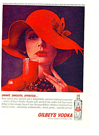 1961- Gilbey's Vodka ad (Image1)