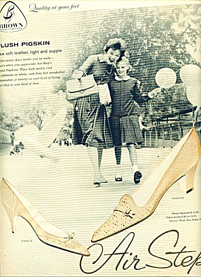 1959 - Air Step Shoes Ad