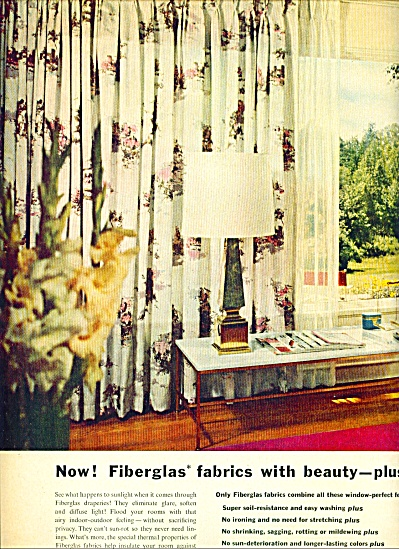1955 -  Owens Corning fiberglas ad (Image1)