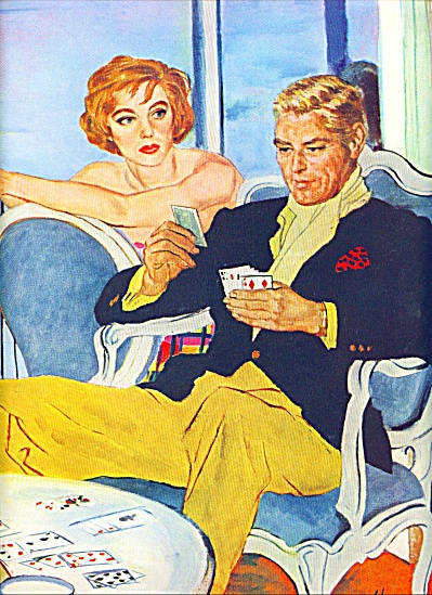1958 - Artist sketches - GEORGE HUGHES STORY ART PAGS (Image1)