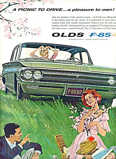 1962 -  Oldsmobile F-85 auto ad (Image1)