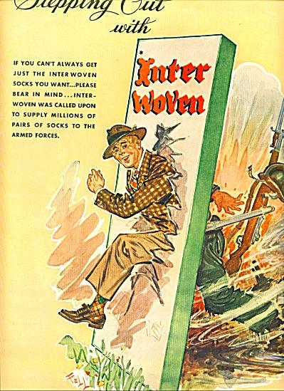 1945 - Inter woven socks ad (Image1)