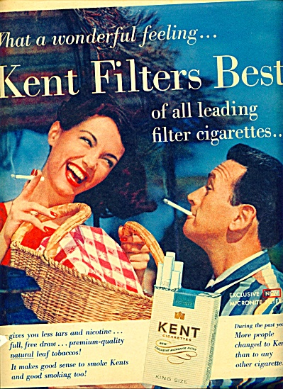 1958 - Kent cigarettes ad (Image1)