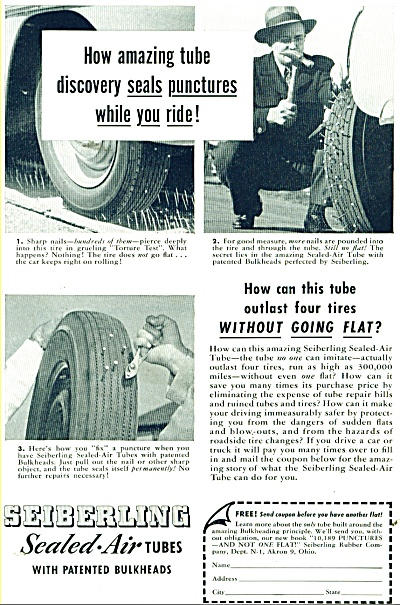 seiberling sealed air tubes - ad 1949 (Image1)