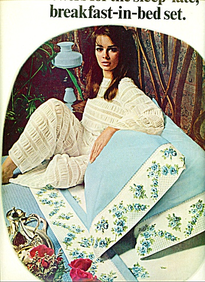 1967 - Flowers for the sleep late ad SHEETS (Image1)