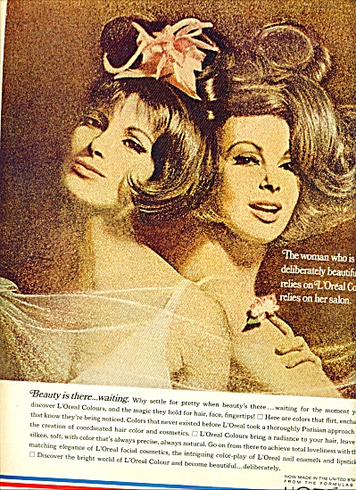 1967 - L'oreal of Paris ad (Image1)