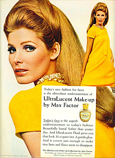 1967 -  Max Factor make up ad (Image1)