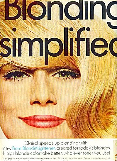 1967 - Clairol Born Blonde lotion lightener (Image1)