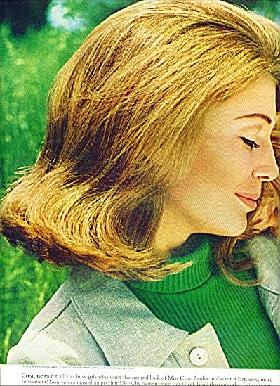 1967 -  Miss Clairol creme formula ad (Image1)