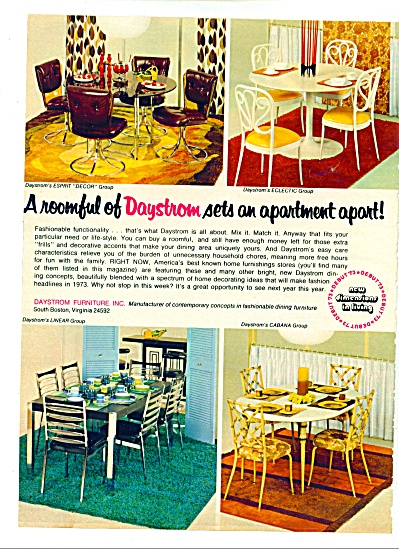 1972 -  Daystroms furniture ad (Image1)