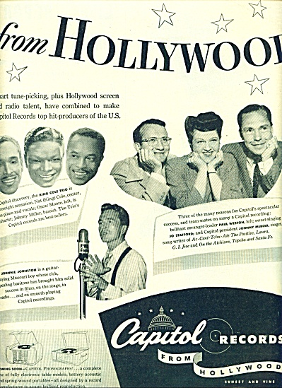 1945 - Capitol records ad (Image1)