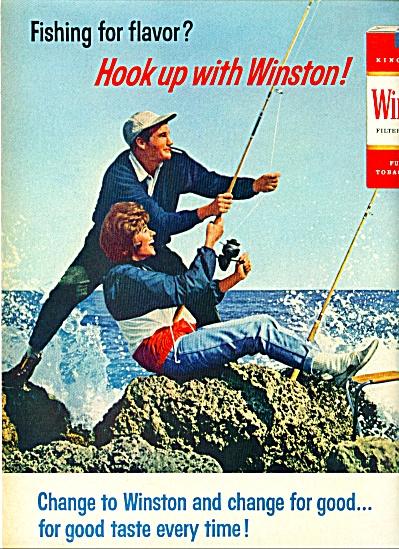 1965 -  Winston cigarettes ad (Image1)