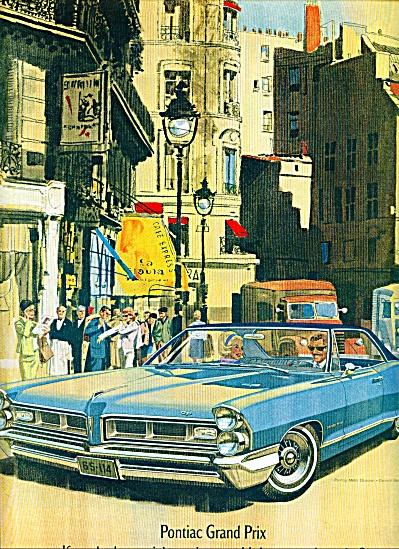 1965 -  Pontiac Grand Prix auto ad (Image1)