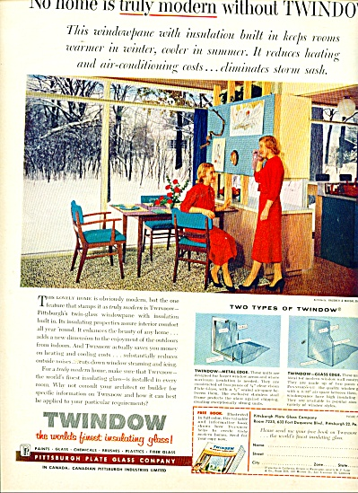 Twindow insulating glass ad 1957 (Image1)