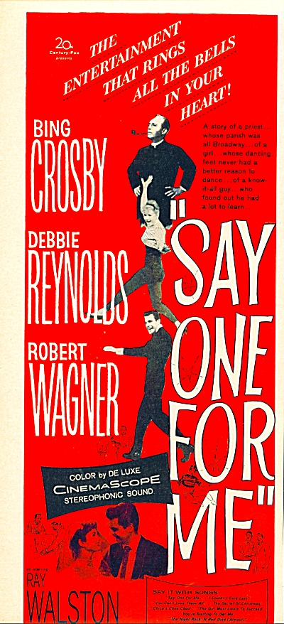 1959 - Movie: Say One For Me - Bing Crosby