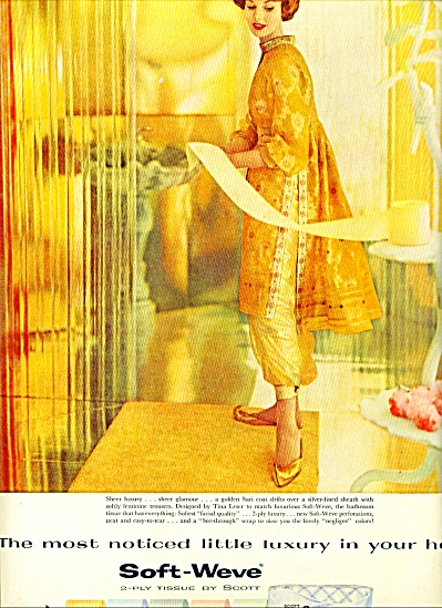 1959 -  Scott Soft weve tissue ad (Image1)