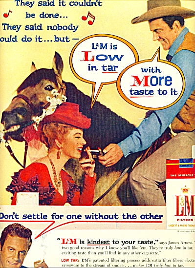 1959 -  L & M cigarettes - JAMES ARNESS (Image1)
