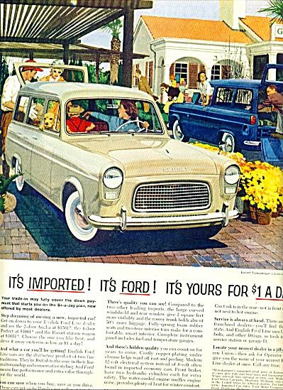 1959 -  English Ford Line ad (Image1)
