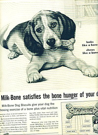 1959 -  Milk Bone dog biscuits ad (Image1)