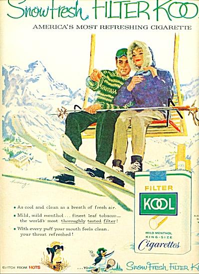 1959 -  -  Kool mild menthol cigarettes ad (Image1)