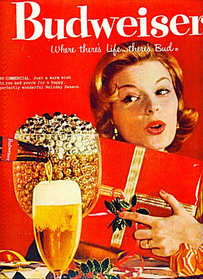1959 - Budweiser beer ad (Image1)