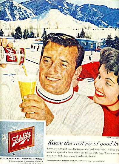 1959 - Schlitz beer ad (Image1)