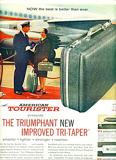 1959 -  American Tourister luggage ad (Image1)