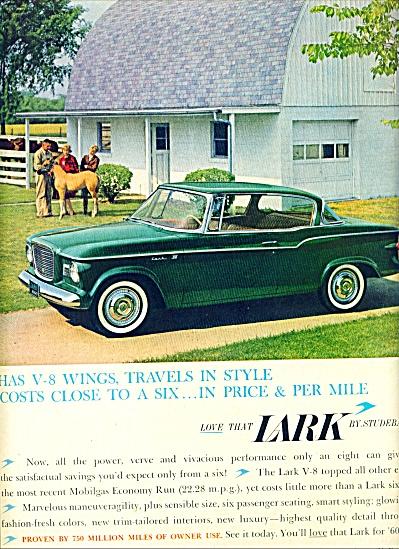 1959 -  Studebaker Lark auto ad (Image1)