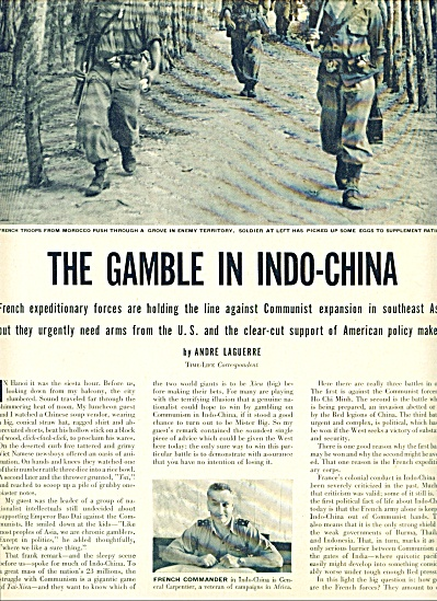 1950 -  The Gamble in Indo-China(history) (Image1)