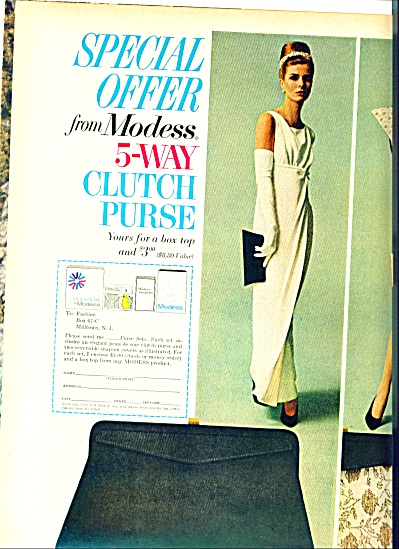 1964 -  Modess special offer ad (Image1)