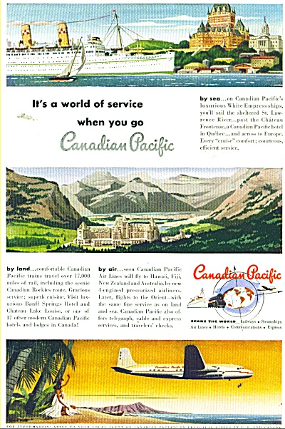 Canadian Pacific ad 1949 (Image1)