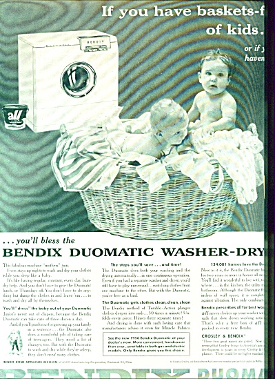 1955 -  Bendix duomatic washer-dryer ad (Image1)