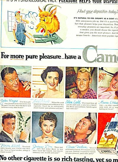 1955 -  Camel cigarettes ad (Image1)