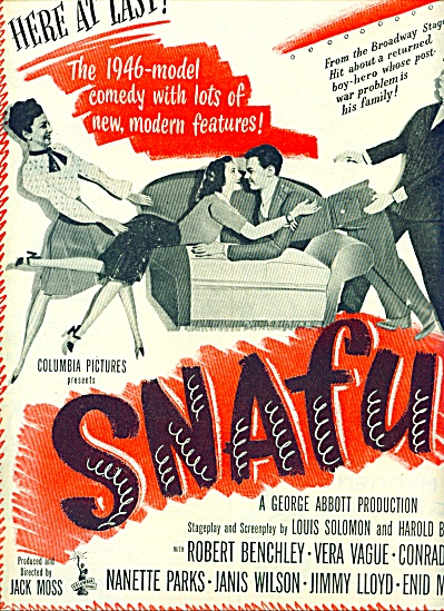 1945 - Movie: SNAFU - ROBERT BENCHLEY (Image1)