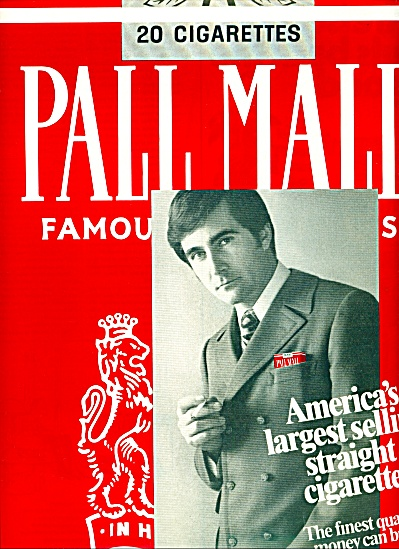 1970 - Pall Mall Cigarettes Ad
