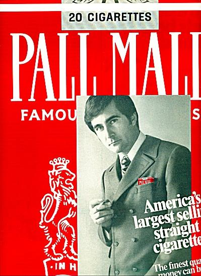 1970 - Pall Mall cigarettes ad (Image1)