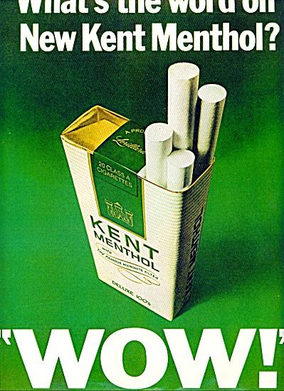 1970 - Kent Menthol cigarettes ad (Image1)
