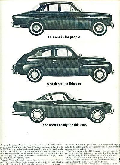1962 -  Volvo automobile ad (Image1)