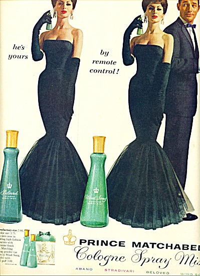 1960 - Prince Matchabelli cologne spray mist (Image1)