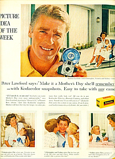1960 - Kodak film - PETER LAWFORD (Image1)