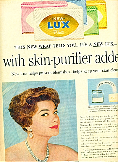 1960 - Lux Soap - Anne Baxter