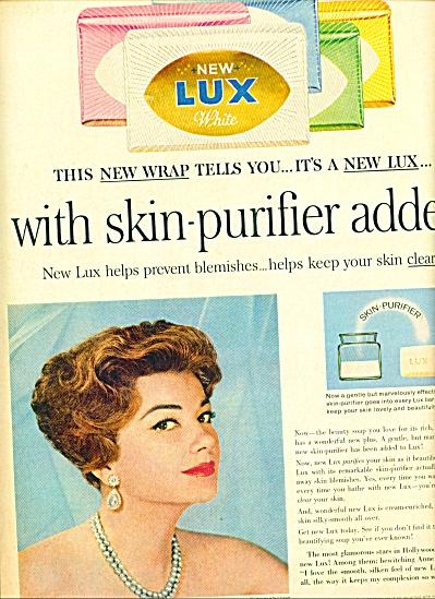 1960 - Lux soap -  ANNE BAXTER (Image1)
