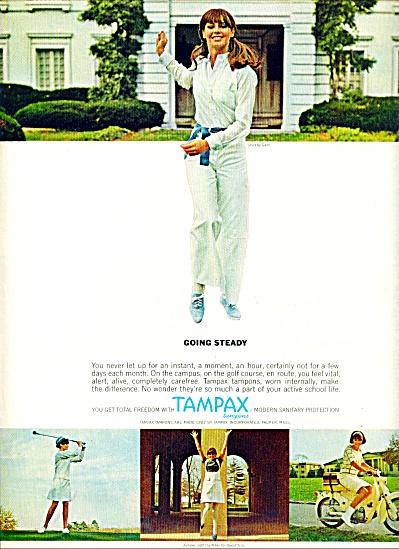 1966 - Tampax AD Model SANDY HILTON (Image1)