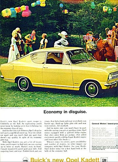1966 -Opel Kadett ad (Image1)