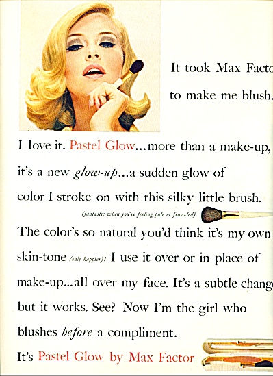 1964 - Max Factor pastel glow ad (Image1)